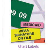 Medical File Labels, Chart Labels,